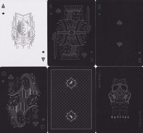 Darkfall Playing Cards - RarePlayingCards.com - 1