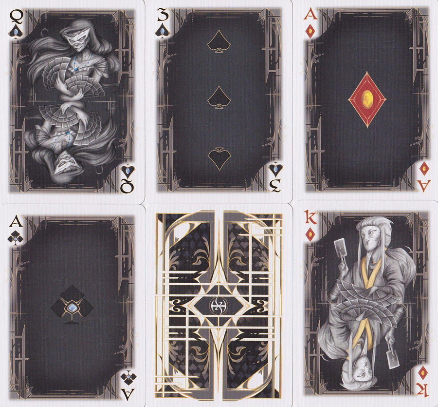 De'Vo Card Masters Playing Cards by US Playing Card Co.