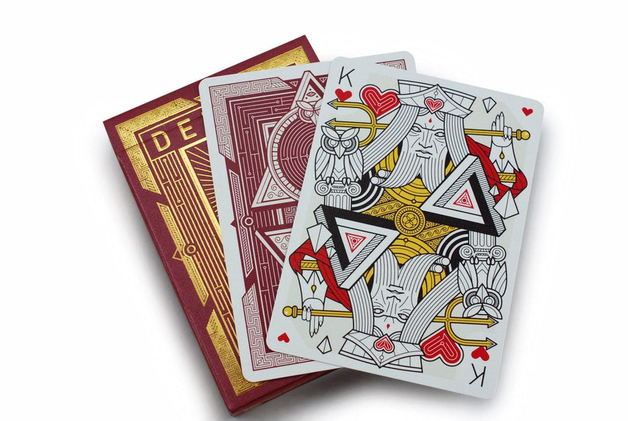 Dedalo Omega Playing Cards by Thirdway Industries