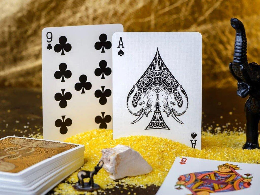 Elephant Desert Playing Cards