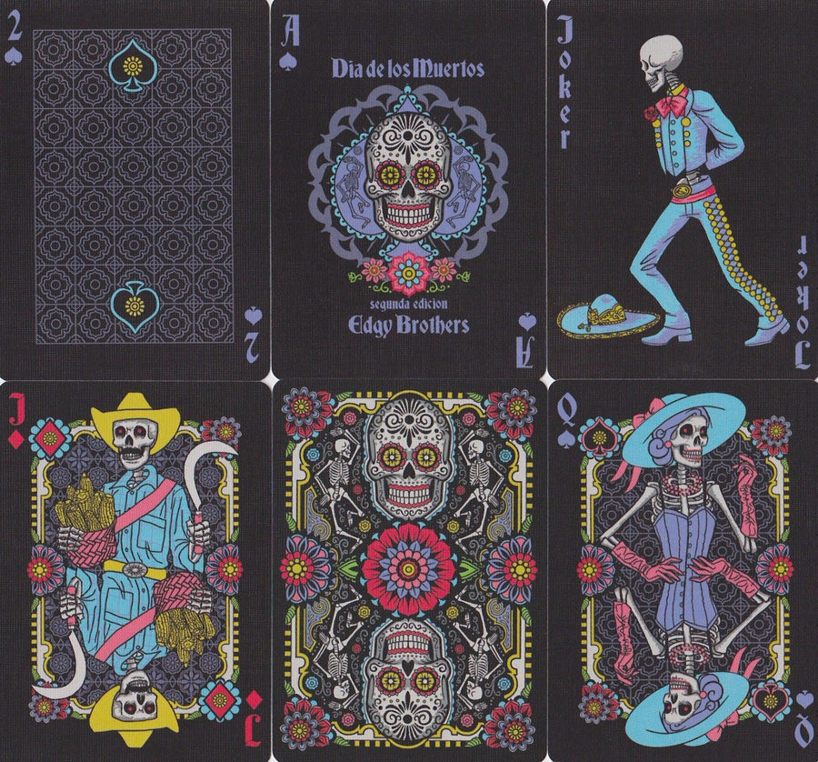 Dia de los Muertos Playing Cards by US Playing Card Co.