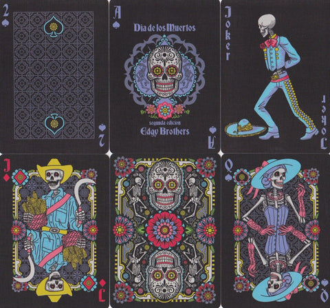 Dia de los Muertos Playing Cards - RarePlayingCards.com - 1