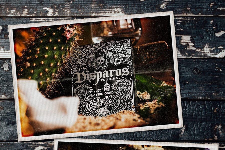 Disparos Black Playing Cards by Ellusionist