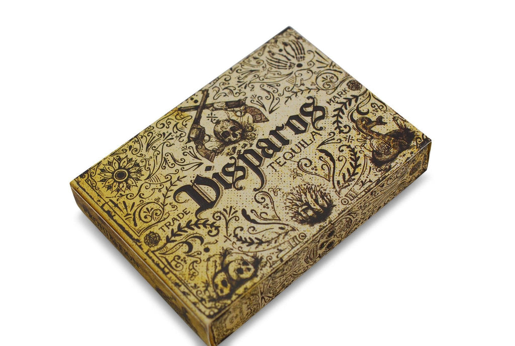 Disparos Tequila Playing Cards - RarePlayingCards.com - 4