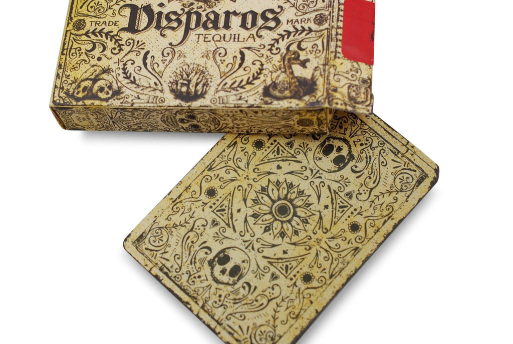 Disparos Tequila Playing Cards - RarePlayingCards.com - 6