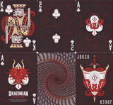Draconian Brimstone Playing Cards by Midnight Cards