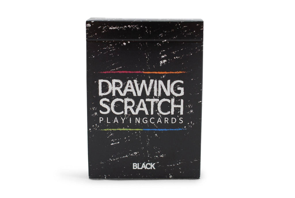 Drawing Scratch Playing Cards - RarePlayingCards.com - 2