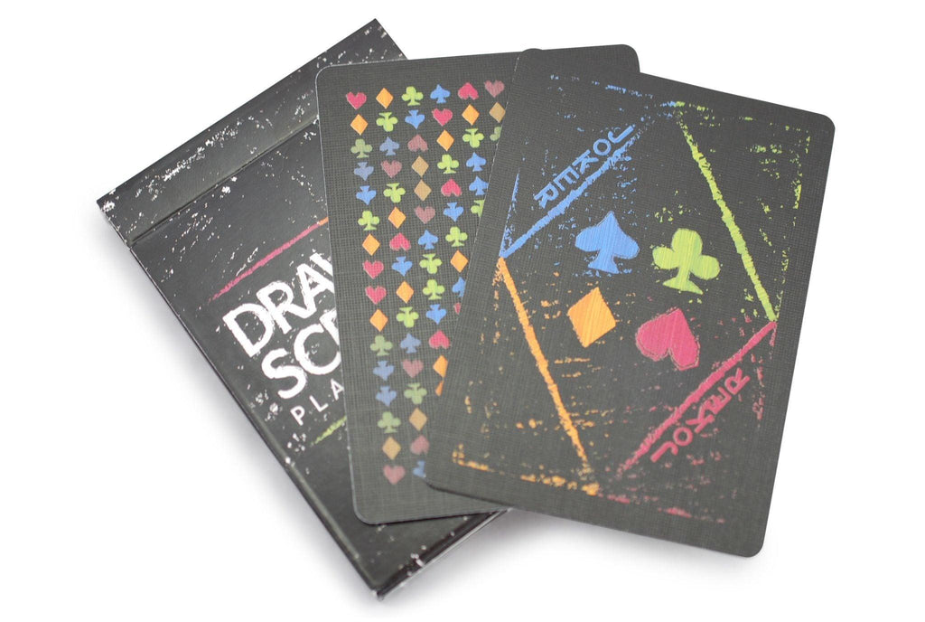 Drawing Scratch Playing Cards - RarePlayingCards.com - 6