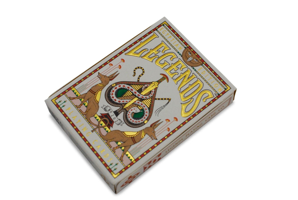 Egyptian Legends Playing Cards - RarePlayingCards.com - 4