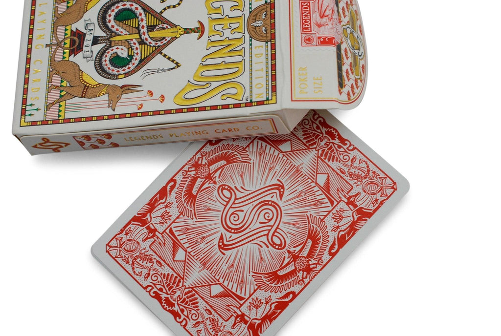 Egyptian Legends Playing Cards - RarePlayingCards.com - 6