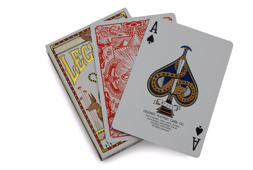 Egyptian Legends Playing Cards - RarePlayingCards.com - 8