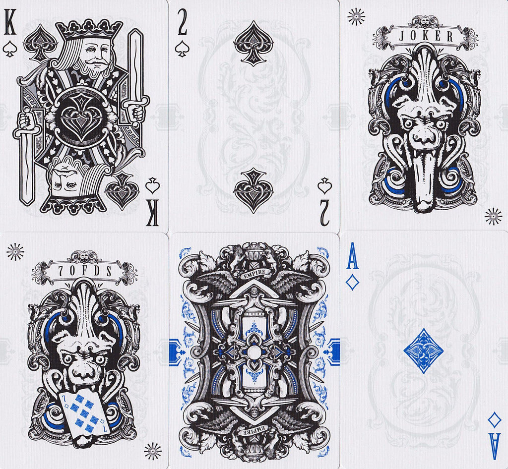 Empire: Bloodlines Playing Cards - RarePlayingCards.com - 10