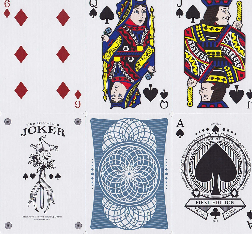 Encarded Standard 1st Edition Playing Cards - RarePlayingCards.com - 11