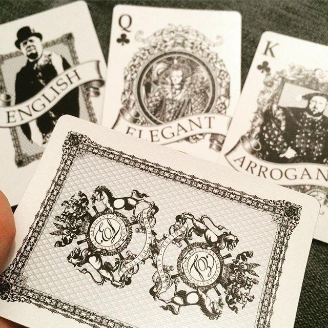 English Laundry Playing Cards - RarePlayingCards.com - 10