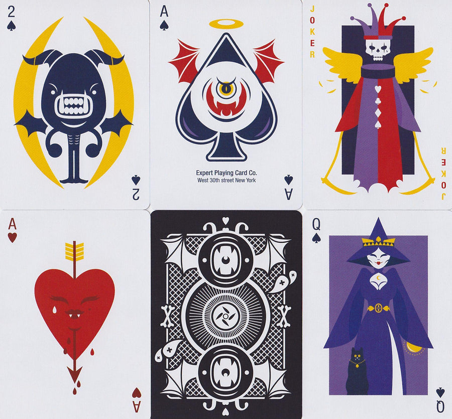 Evil Deck Playing Cards by Thirdway Industries