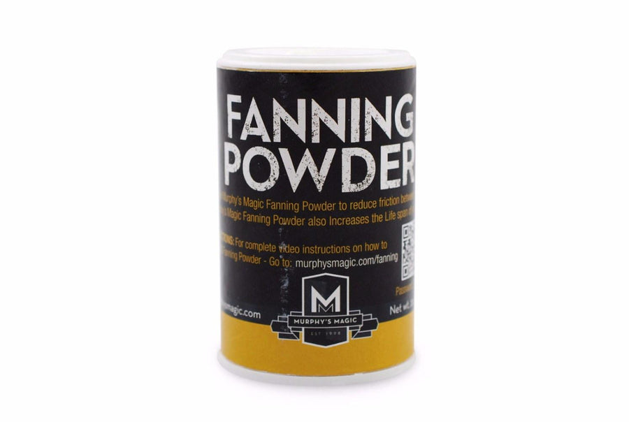 Fanning Powder Playing Cards by Murphy's Magic