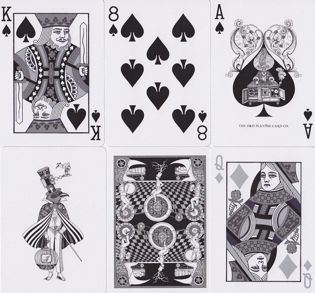 Fantastique Playing Cards - RarePlayingCards.com - 9