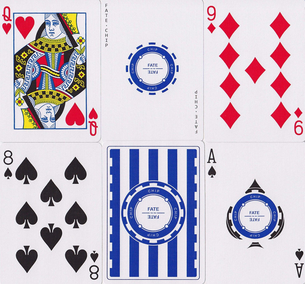Fate Chip Playing Cards by US Playing Card Co.
