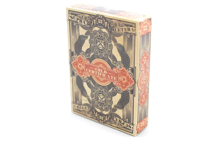 Federal 52 Gold Certificate Playing Cards by Kings Wild Project