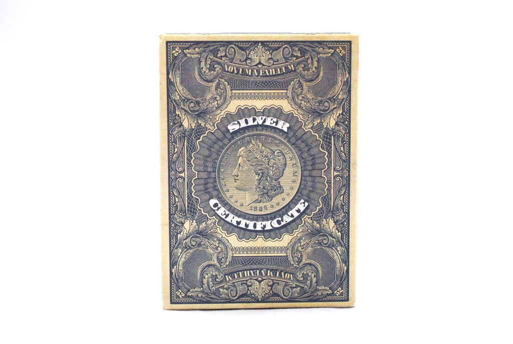 Federal 52 Silver Certificate Playing Cards by Kings Wild Project