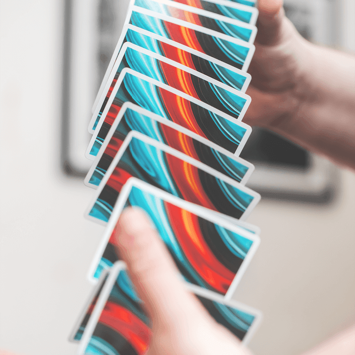 FLUID 2019 Edition Playing Cards by CardCutz