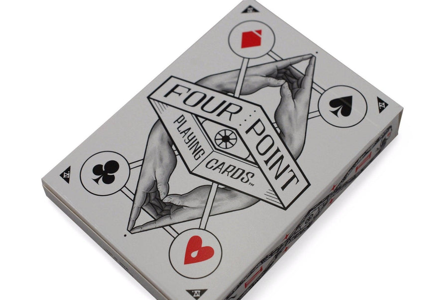 Four Point Playing Cards by US Playing Card Co.