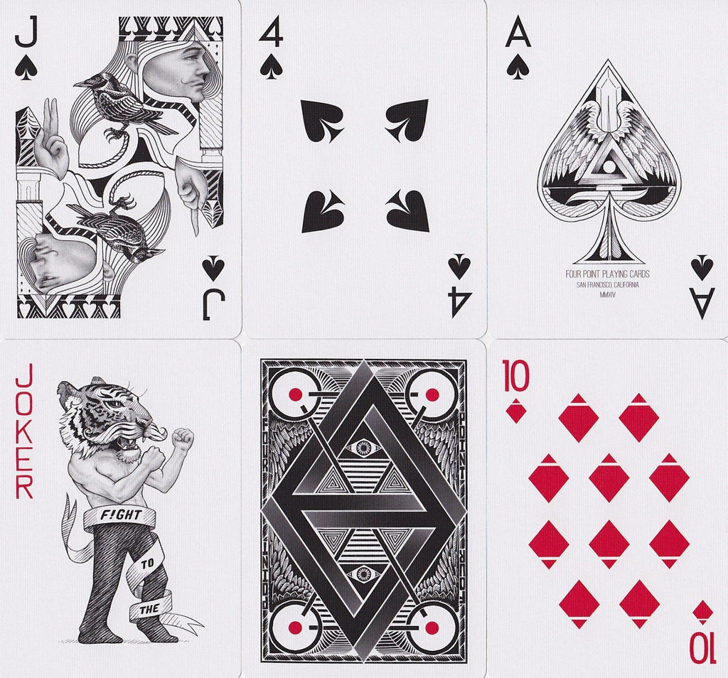 Four Point Playing Cards