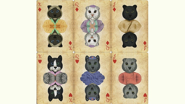 Friendly Feline Playing Cards by US Playing Card Co.