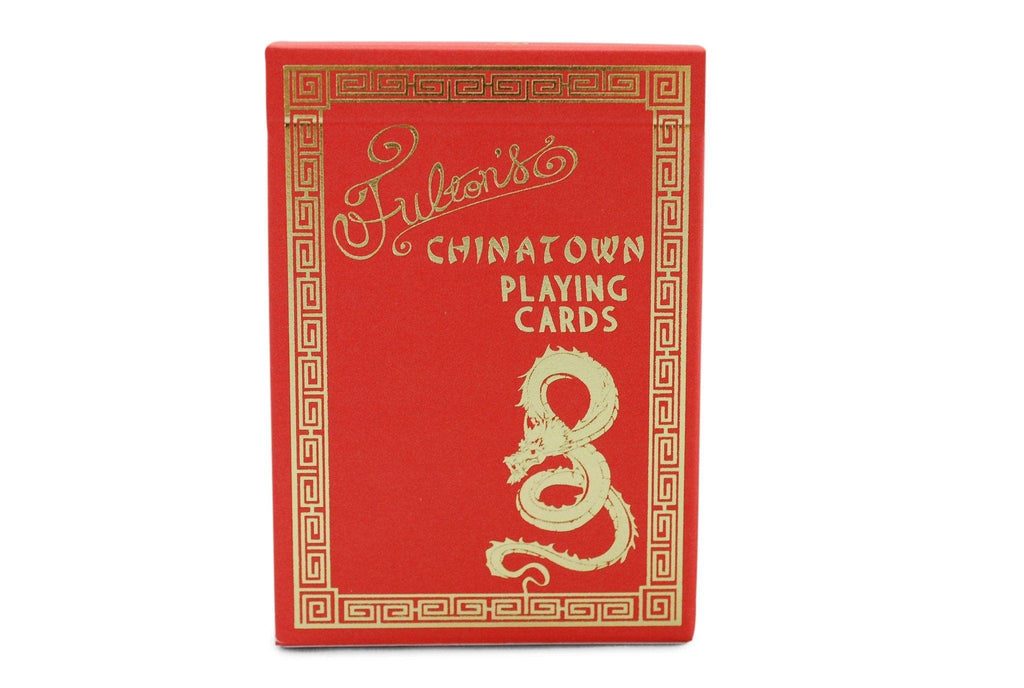 Fulton's Chinatown Playing Cards - RarePlayingCards.com - 2