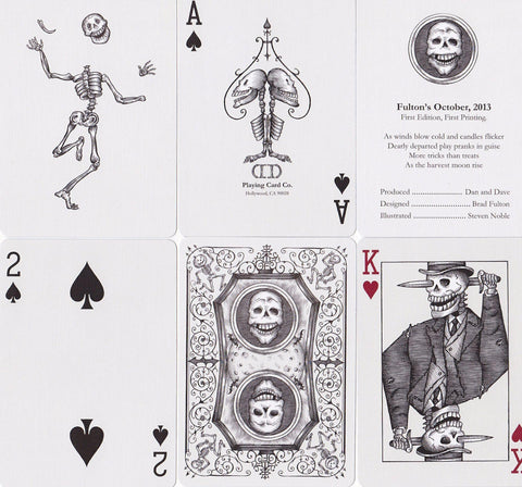 Fulton's October 2013 Edition Playing Cards by Dan & Dave