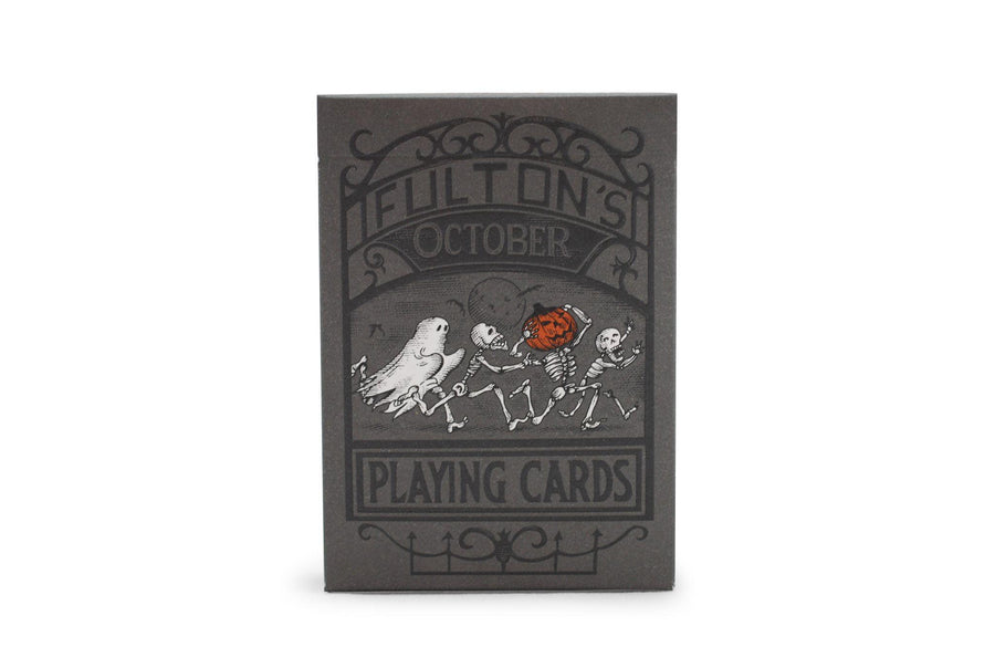 Fulton's October 2014 Edition Playing Cards by Dan & Dave