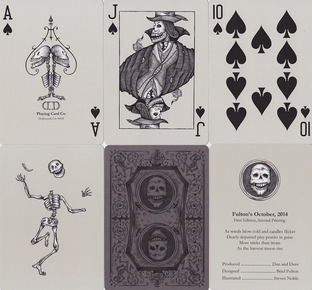 Fulton's October 2014 Edition Playing Cards - RarePlayingCards.com - 9