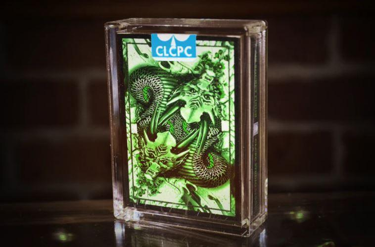 Green Dragon Playing Cards