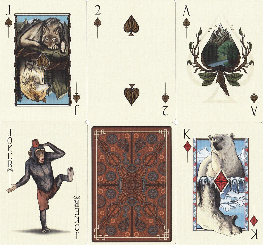 GAIA Playing Cards Playing Cards by Forge Arts