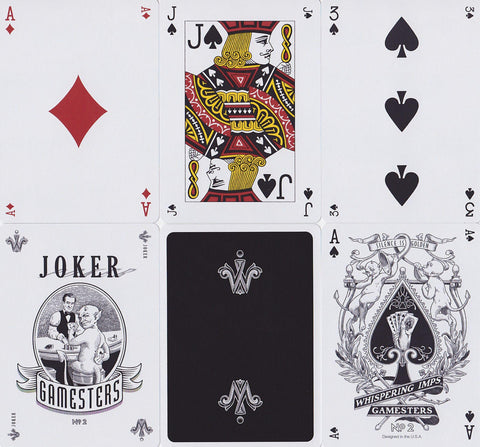 Gamesters Playing Cards