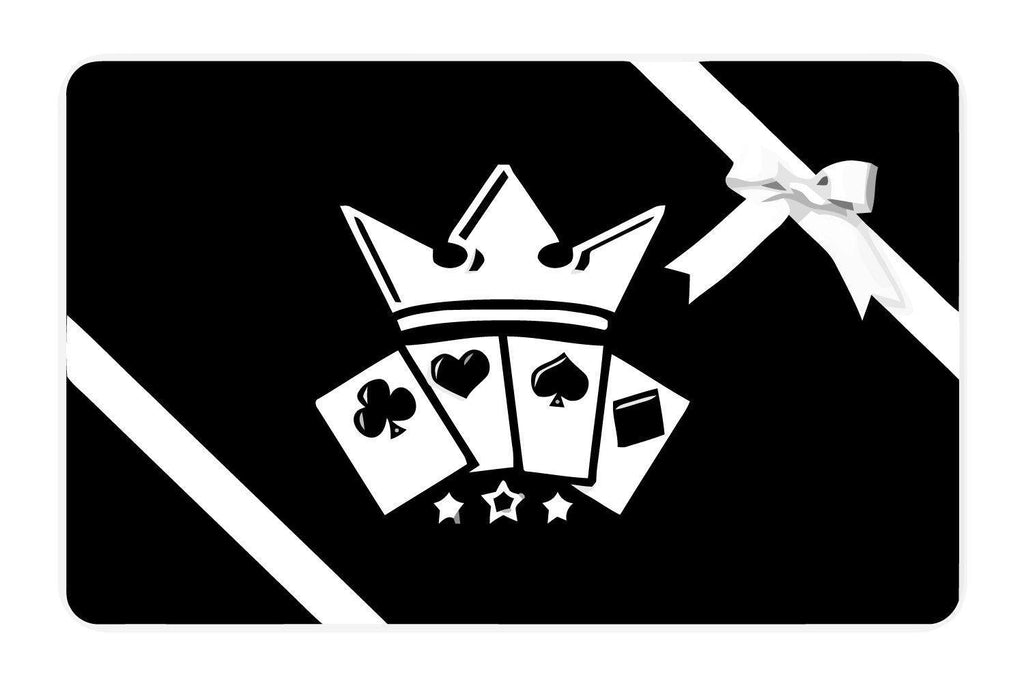 Gift Card Playing Cards - RarePlayingCards.com