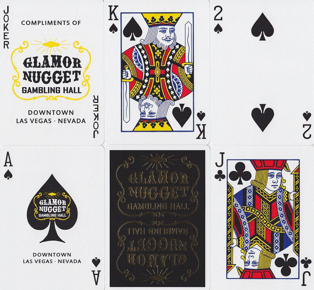 Glamor Nugget: Gold Edition Playing Cards