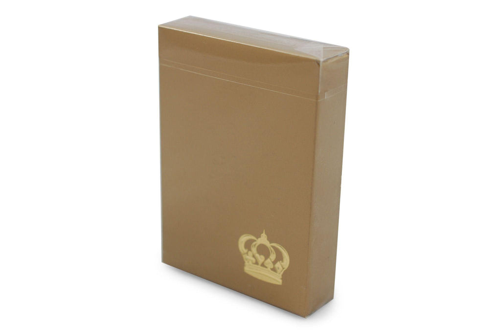 Gold Crown Playing Cards - RarePlayingCards.com - 2
