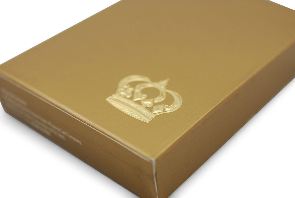 Gold Crown Playing Cards - RarePlayingCards.com - 4