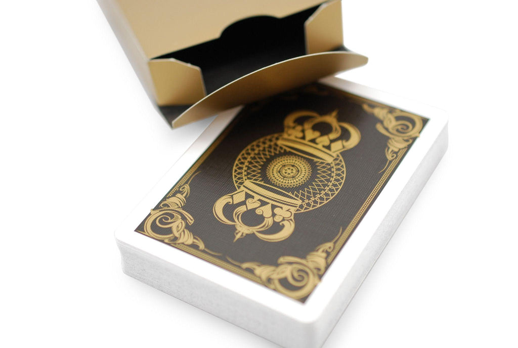 Gold Crown Playing Cards - RarePlayingCards.com - 5
