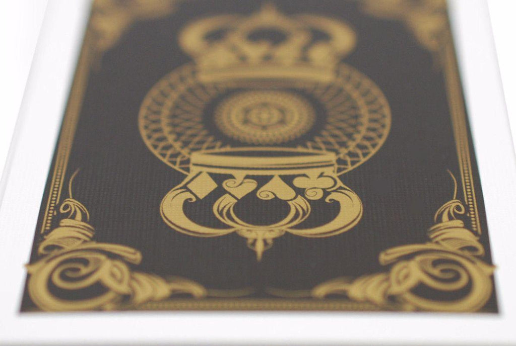Gold Crown Playing Cards - RarePlayingCards.com - 7