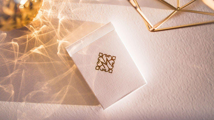 Gold Madison Revolvers Playing Cards by Ellusionist