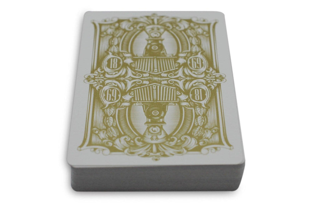 Golden Spike Playing Cards by Legends Playing Card Co.