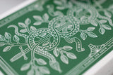 Green Monarchs Playing Cards - RarePlayingCards.com - 7