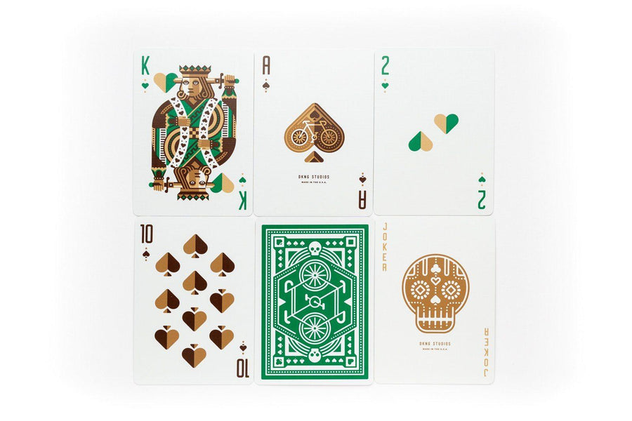 Green Wheel Limited Edition Playing Cards by Art of Play