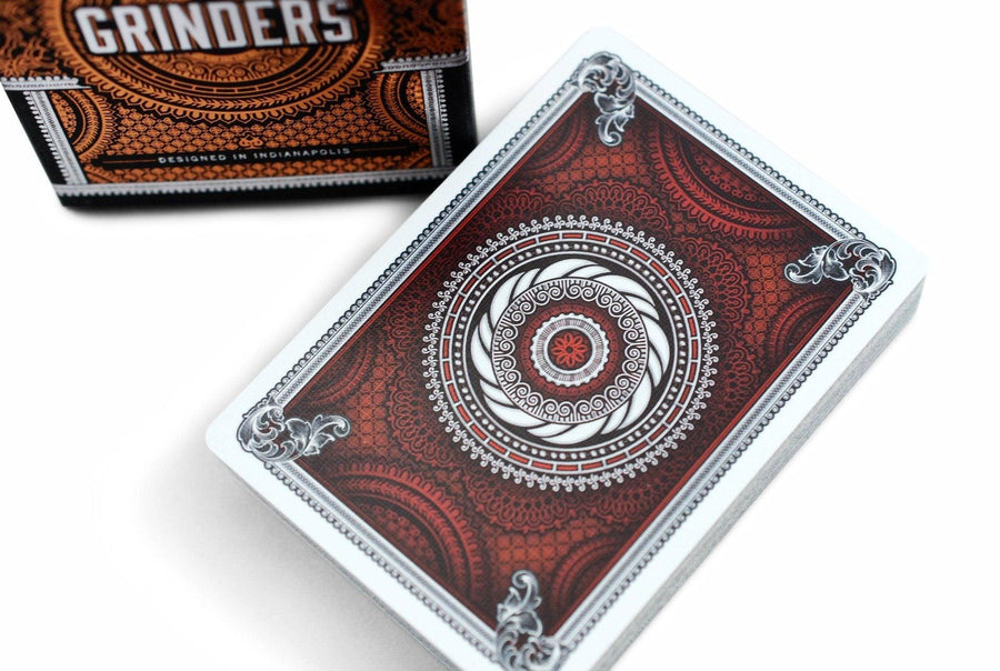 Grinders Playing Cards by Midnight Cards