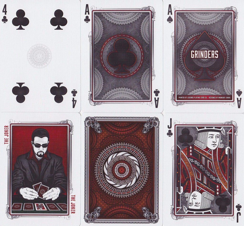 Grinders Playing Cards - RarePlayingCards.com - 8