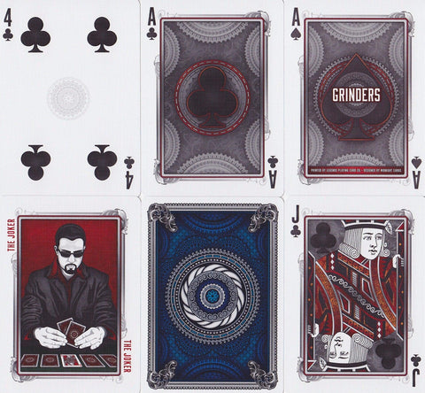 Grinders Playing Cards