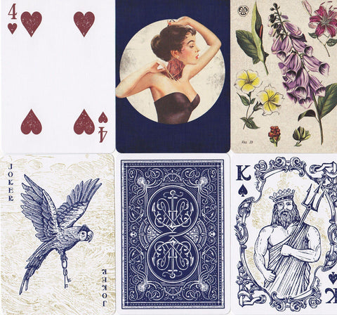 HMNIM Playing Cards - RarePlayingCards.com - 1