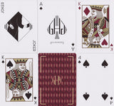 Hollingworths, Burgundy Ed. Playing Cards - RarePlayingCards.com - 11